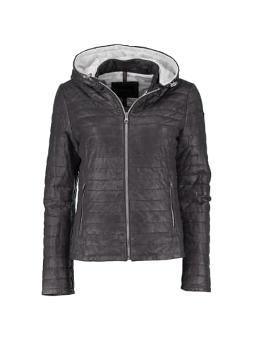 Donders DNR Jackets Lederjacke in schwarz