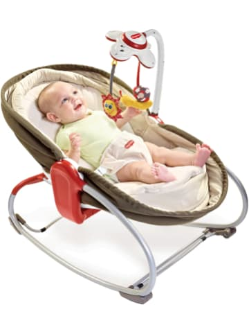 Tiny Love 3-in-1 Babywippe Rocker Napper, braun mit Musikmobile