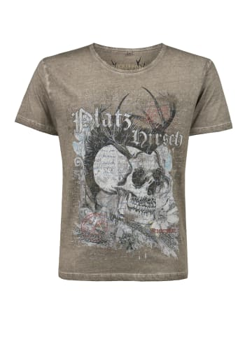 """Stockerpoint T-Shirt """"Bruno"""" in stein"""