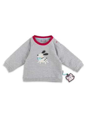 "Sigikid Sweatshirt ""Cats and Dogs"" in Grau"