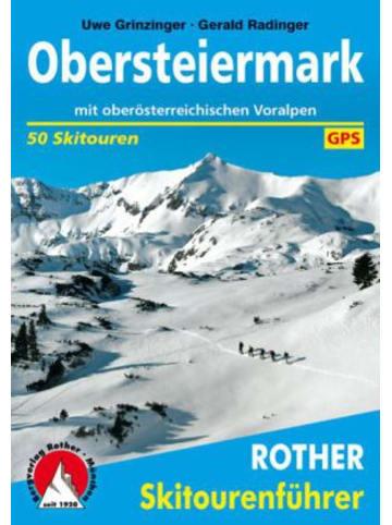 Bergverlag Rother Rother Skitourenführer Obersteiermark