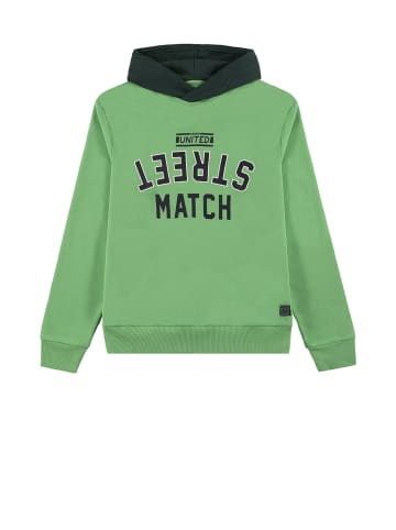 TOM TAILOR kids Kapuzensweatshirt in irish green