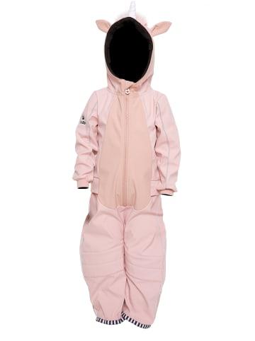 WeeDo Softshellanzug UNIDO Einhorn in unicorn pink