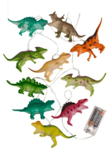 """Out of the Blue LED-Lichterkette """"Dinosaurier"""" 10 LED's, 1,70m"""