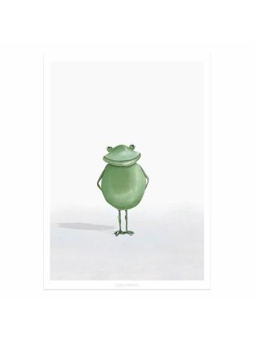 "Dori's Prints Poster / Kunstdruck ""Frosch Gigo"" - DIN A4"