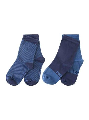 """Reima 2er Pack Socken """" My Day """" in Navy"""