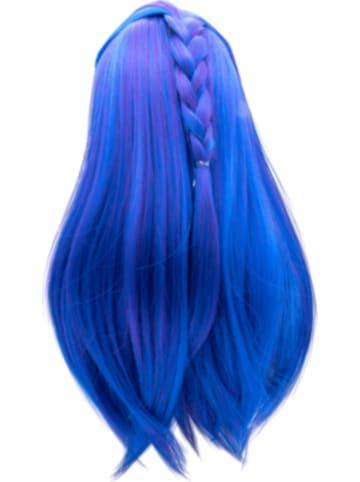 I'm a Girly - Perücke, blau für 48 cm Fashion Doll