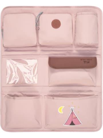 Lässig Auto-Rückenlehnentasche 4kids Wrap-to-Go, Adventure Tipi, pink