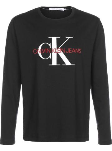 CALVIN KLEIN JEANS Longsleeve Monogram LS in ck black