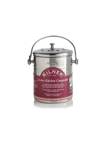 Kilner Komposter für die Küche in Edelstahl - 2 Liter