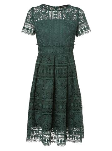 SWING Abendkleid in smaragd