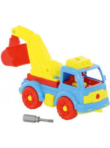 """POLESIE Konstruktionsfahrzeug """"Bau dir deinen Kranwagen"""""""
