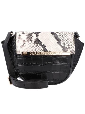 Roberto Cavalli Hannah Mini Bag Umhängetasche Leder 19 cm in black