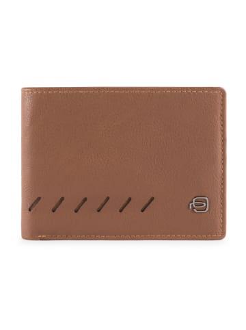 Piquadro Nabucco Geldbörse RFID Leder 12,5 cm in brown