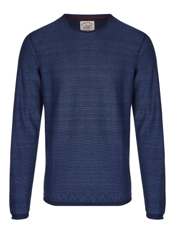 Eagle Denim Strickpullover in blau