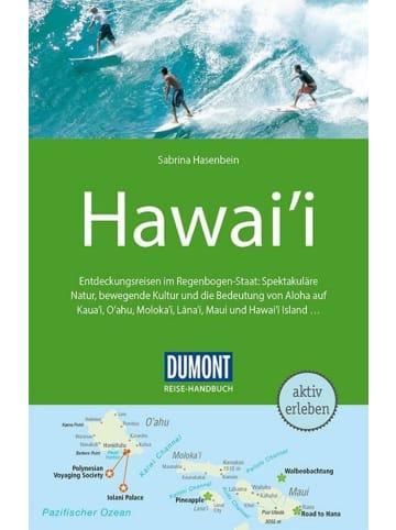 DuMont Kalenderverlag DuMont Reise-Handbuch Reiseführer Hawai'i   mit Extra-Reisekarte