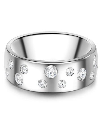 Stella Copenhagen Ring Titan verziert mit Kristallen von Swarovski® in Silber in silber