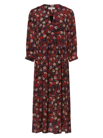Apriori Kleid in rot mehrfarbig