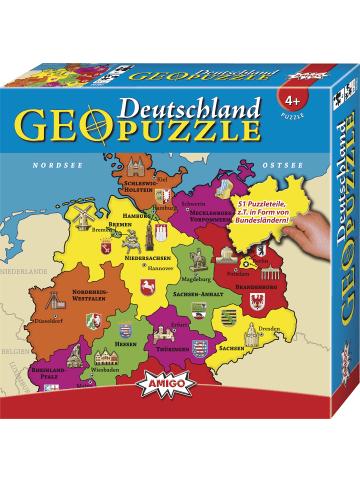 Amigo GeoPuzzle - Deutschland