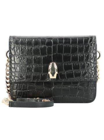 Roberto Cavalli Mini Bag Umhängetasche Leder 18 cm in black