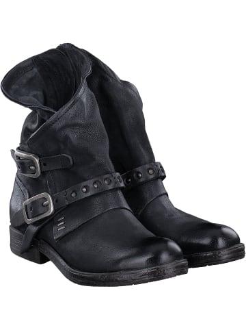 A.S.98 Biker Boots in schwarz
