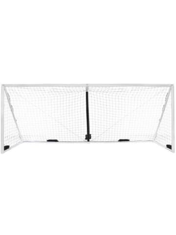 """Gorilla Aufblasbares Fußball-Tor """"iGoal"""" in weiß - 732 x 244 cm"""