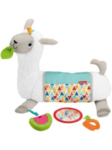 Mattel Fisher-Price 4-in-1 Lama Spielkissen Bauchlage, Baby-Spielzeug für Neugebor...