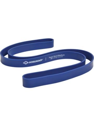 SCHILDKRÖT FITNESS Super Band Medium 32 mm, blau
