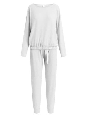CCDK  Pyjama Set, lange Hose und Longsleeve Lydia Cosy Grey in grau meliert