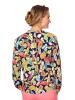 Mona Bluse in Marineblau,Multicolor
