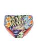 Linga Dore Bikini Slip mit fallt Bund SIMO in Blumendruck