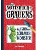 Adrian Verlag Aufstieg der Schlauchmonster - Notizbuch des Grauens Band 1 - Kinderbücher ab 8 Jahre für Jungen und Mädchen
