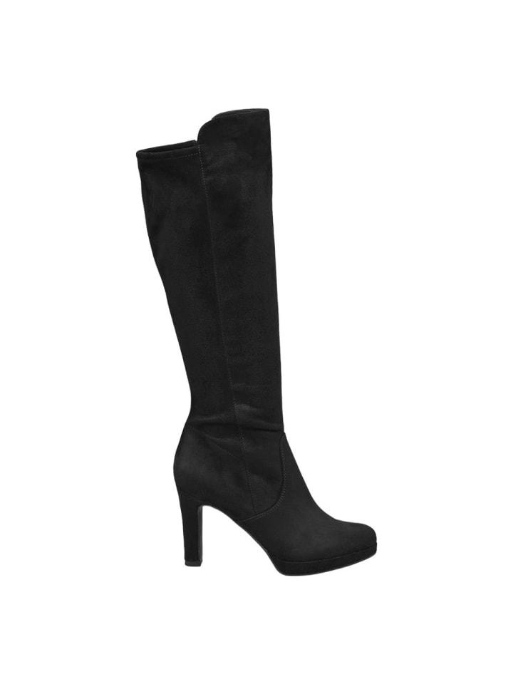 Graceland Stiefel Günstig Schwarz Damen KaufenLimango 8Nmn0vw