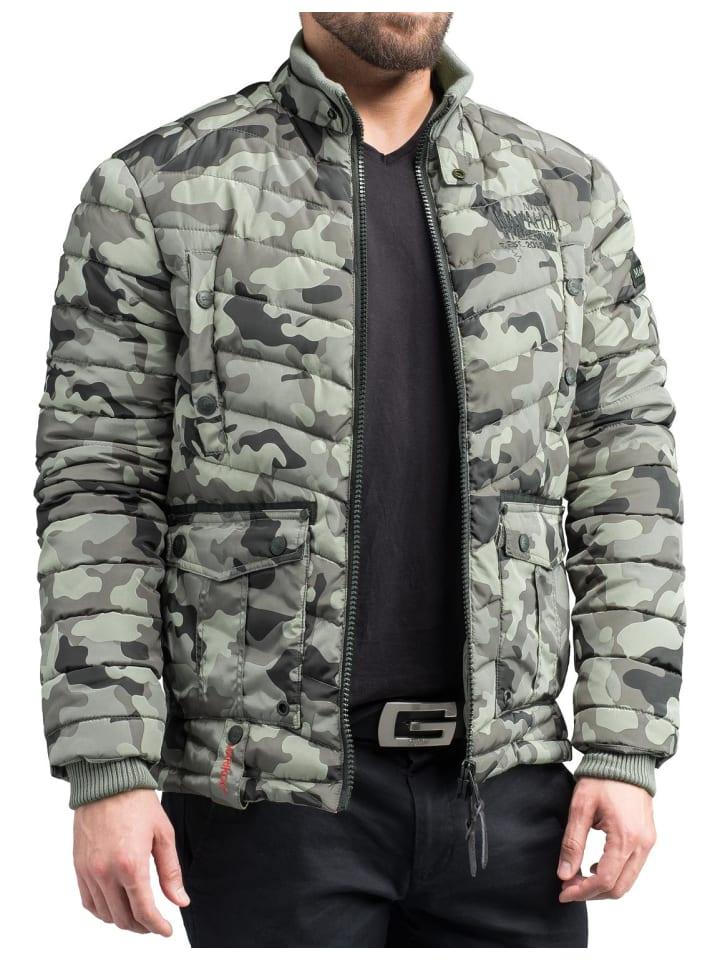 Marikoo Gartoso Army KaufenLimango Günstig In Steppjacke Grey bYy6gvf7