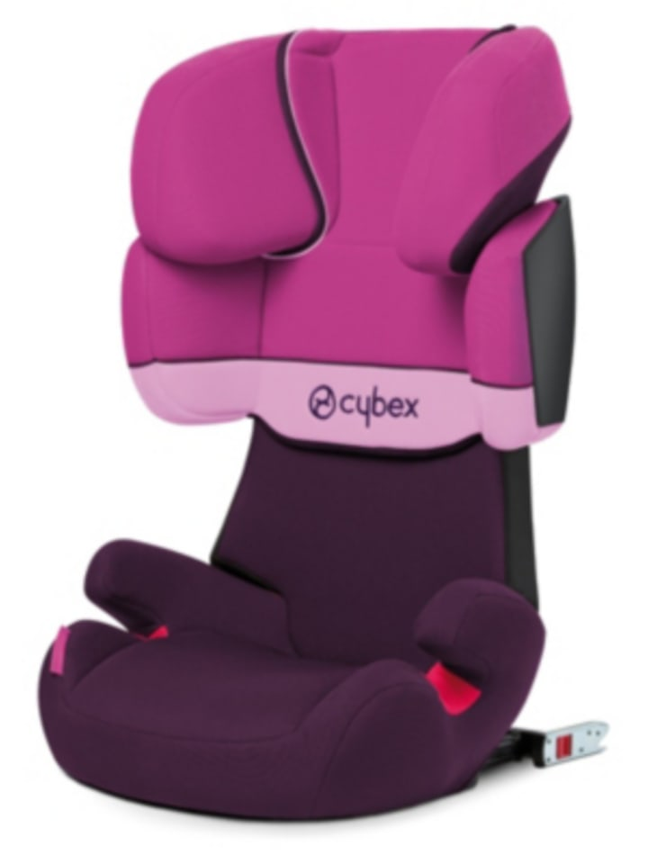 cybex auto kindersitz solution x fix silver line purple. Black Bedroom Furniture Sets. Home Design Ideas