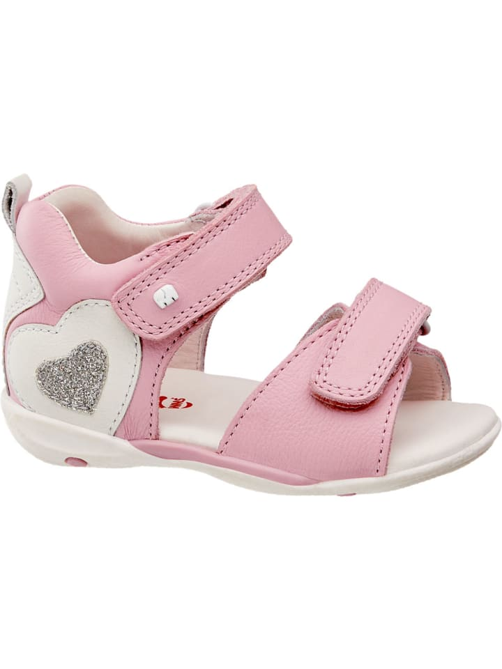 Mädchen Sandale, Weite Mittel rosa