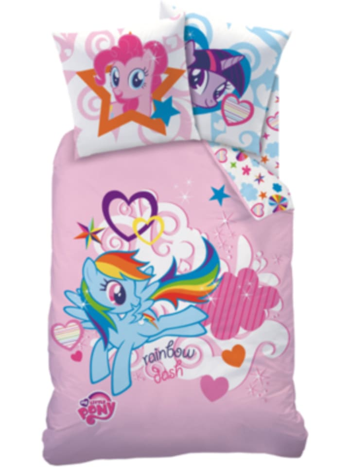 Cti Wende Kinderbettwäsche My Little Pony Renforcé 135 X 200 Cm