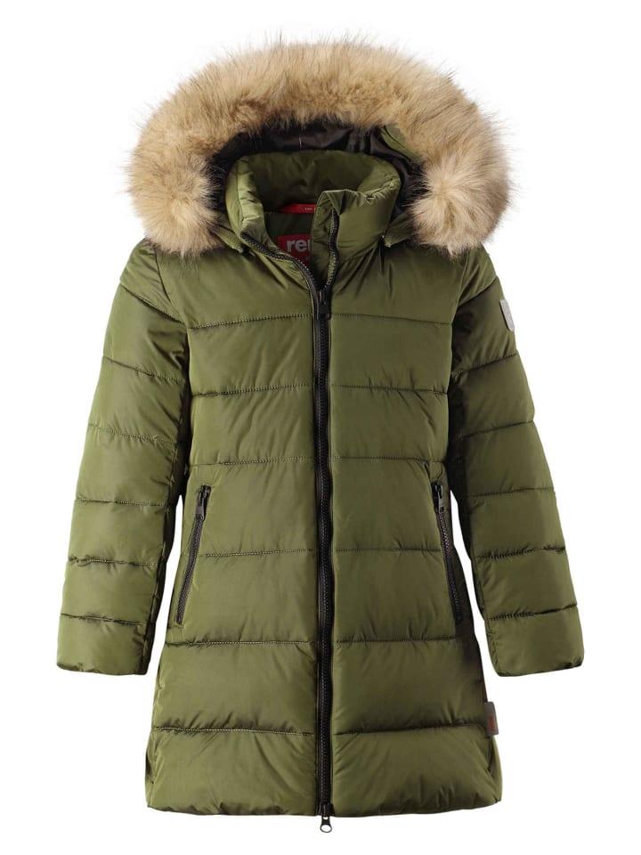 Winterjacke khaki green