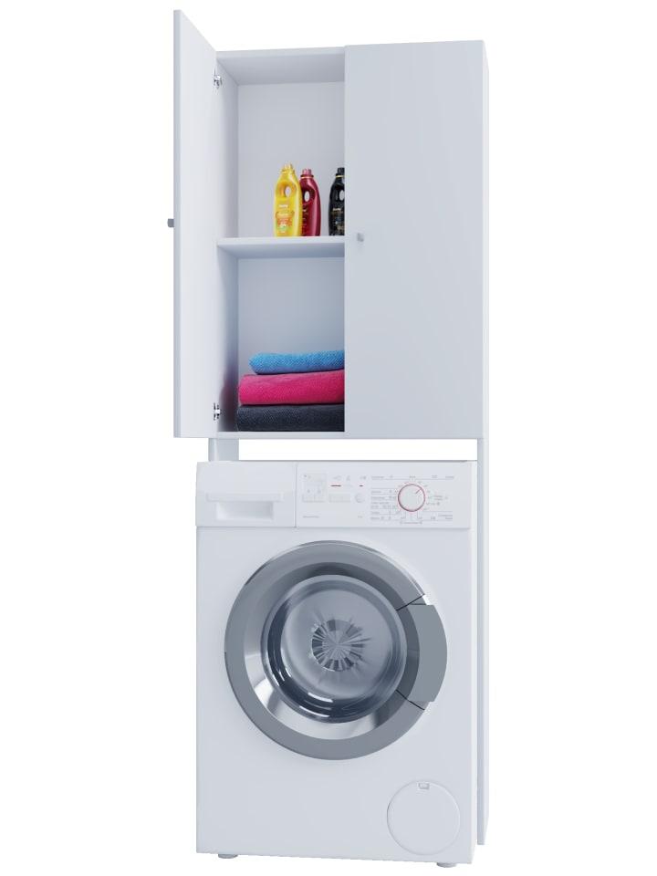 Vcm Waschmaschinen Umbau Schrank Vandol In Weiss Gunstig