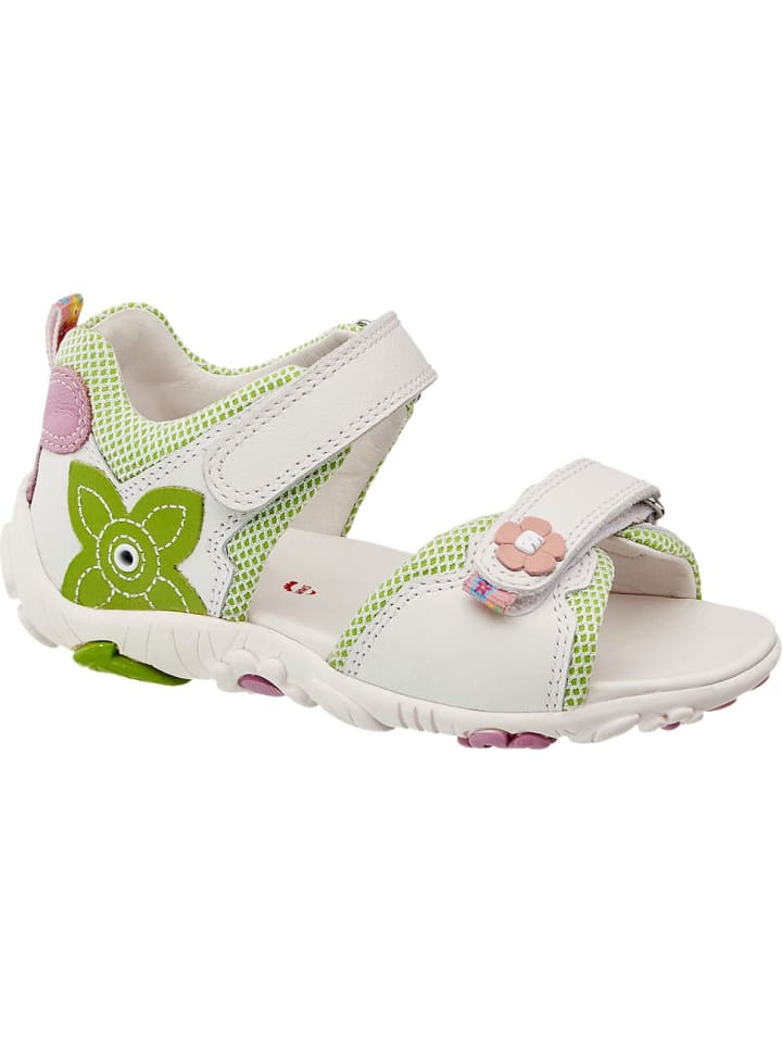 Mädchen Sandale, Weite Mittel weiß