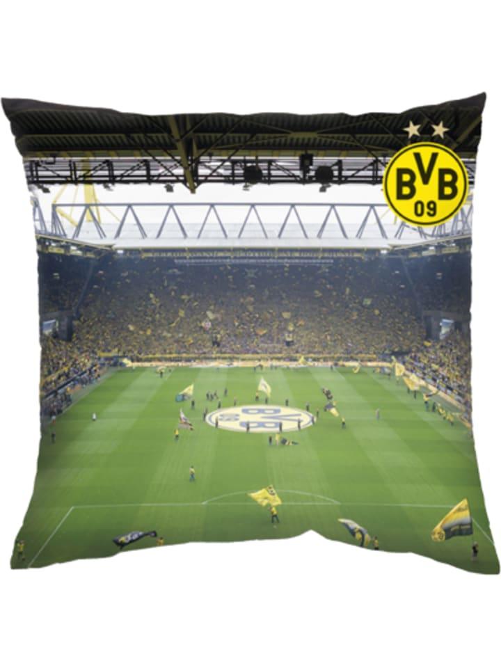 Borussia Dortmund Bvb Kissen Südtribüne 40 X 40 Cm Günstig