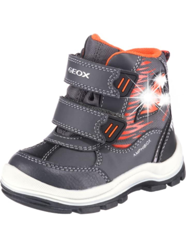 Skate-Schuhe ausgewähltes Material Repliken Geox Winterstiefel FLANFIL Blinkies , Amphibiox, gefüttert ...