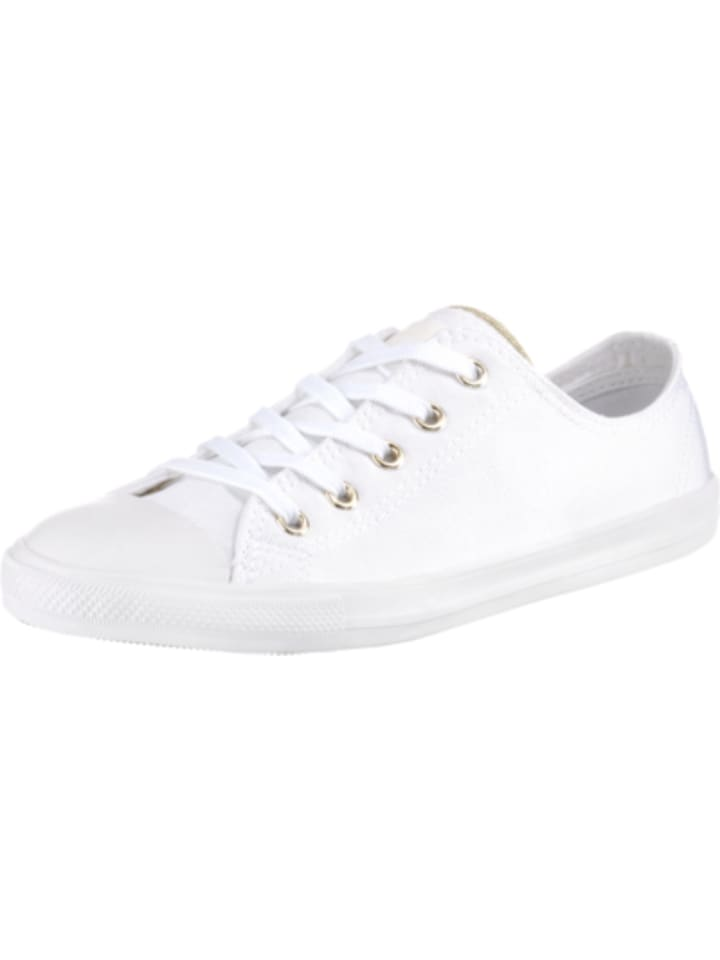 CONVERSE, Chuck Taylor All Star Dainty Ox Sneakers Low, weiß