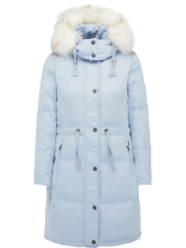 Mantel in hellblau