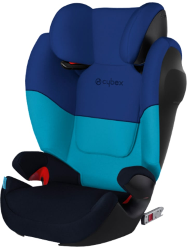 cybex auto kindersitz solution m fix sl silver line blue. Black Bedroom Furniture Sets. Home Design Ideas