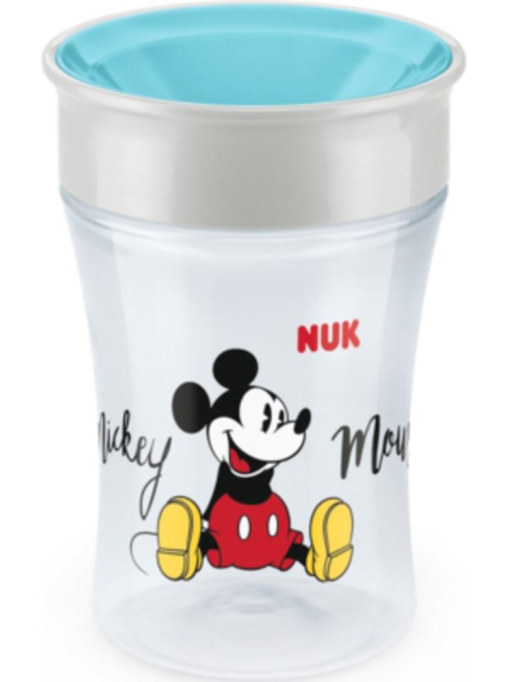 NUK Trinkbecher magic cup, Mickey Maus, 230 ml, türkis