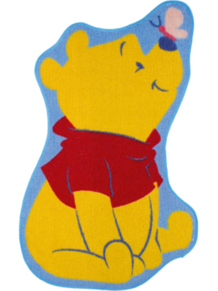 Kinderteppich Winnie mit Schmetterling, gelb, 50 x 80 cm günstig kaufen |  limango