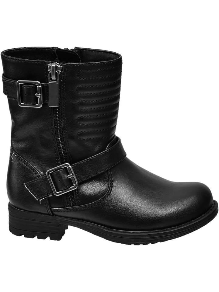 Weltweit Versandkostenfrei speziell für Schuh erstklassige Qualität Mädchen Boots schwarz