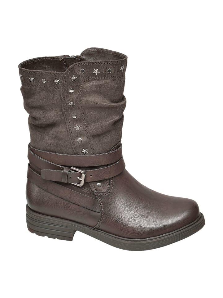 Graceland Stiefel mit Reißverschluss in Größe EUR 36 günstig