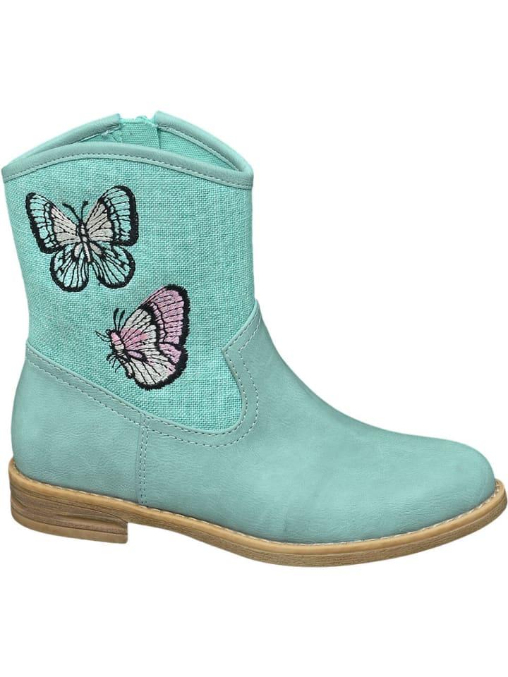 Mädchen kaufenlimango Graceland türkis günstig Stiefel XPkiuZ
